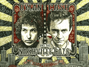 Dylan / Cash And The Nashville Cats Print